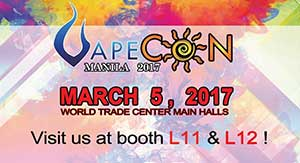 Vapecon Manila 2017, we are coming