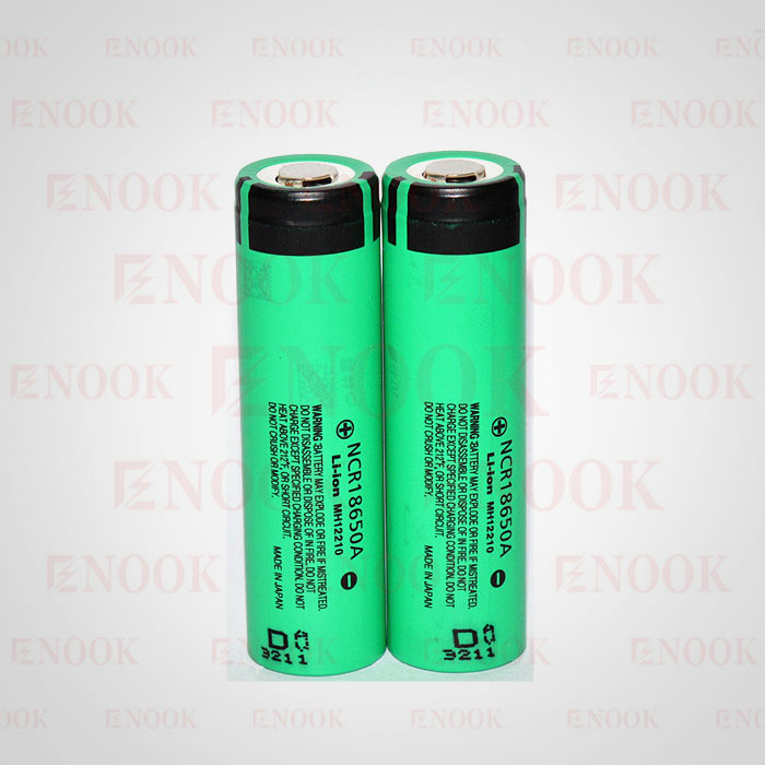 High quality NCR 18650A 3100mah 3.7V Li ion battery for e-cigarettes