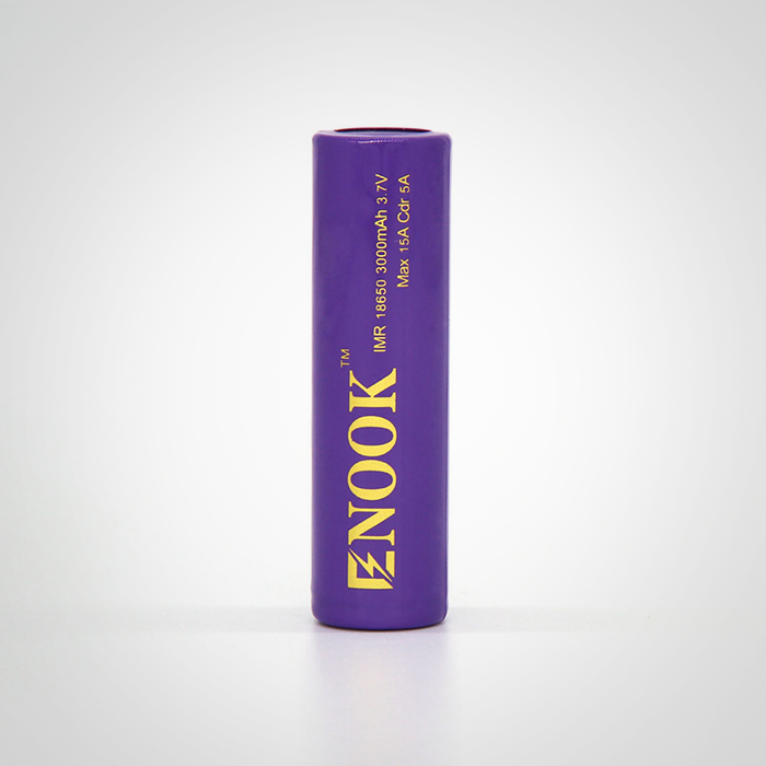 Best selling original Enook 18650 3000mAh 15A rechargeable battery 3.7V 18650 lithium battery good for flashlight and power bank