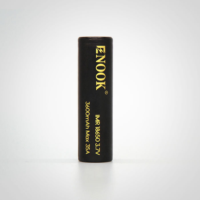 Enook 3600mAh Max 35A rechargeable battery 3.7v 18650 lithium battery in big stock