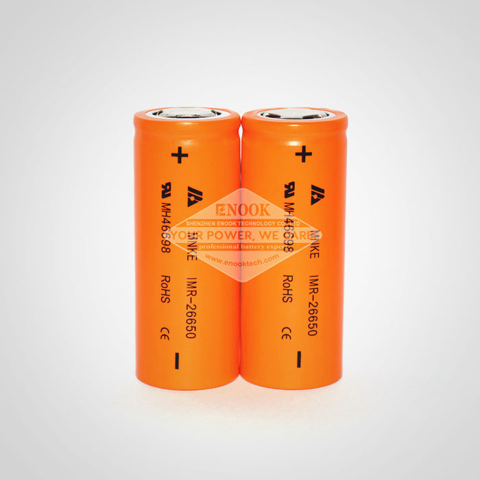 High capacity 26650 battery MNKE 3500mah Max 70A Li-ion battery with falt top good for vaping