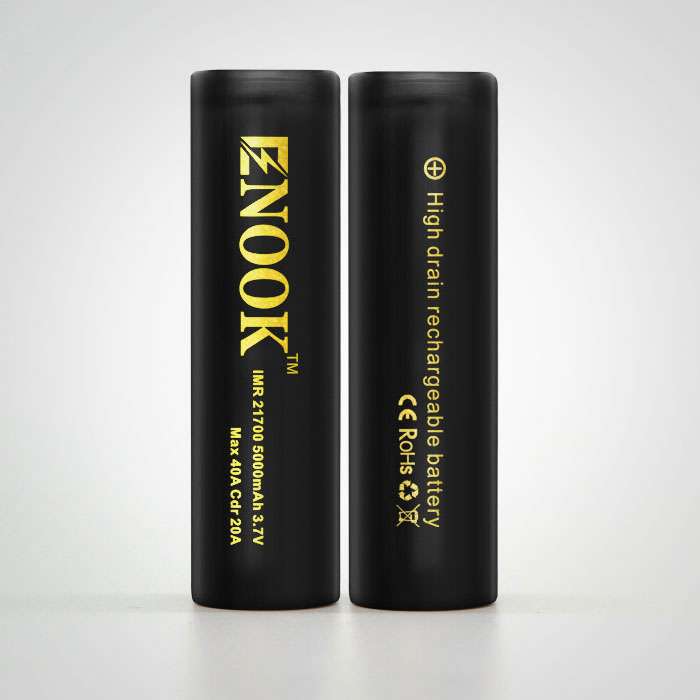 New original Enook 21700 5000mAh 40A rechargeable 3.7V battery