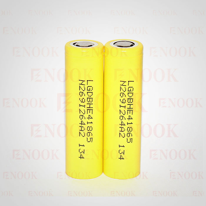 18650 battery LG HE4 2500mah 20A rechargeable battery with enough stock