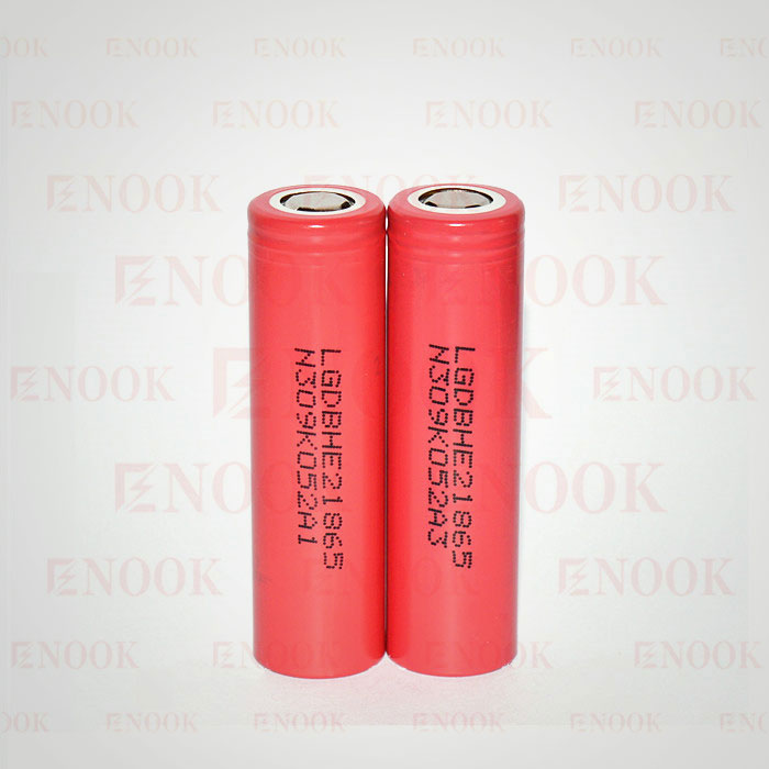Factory price 18650 battery LG HE2 2500mah 20A rechargeable battery with enough stock