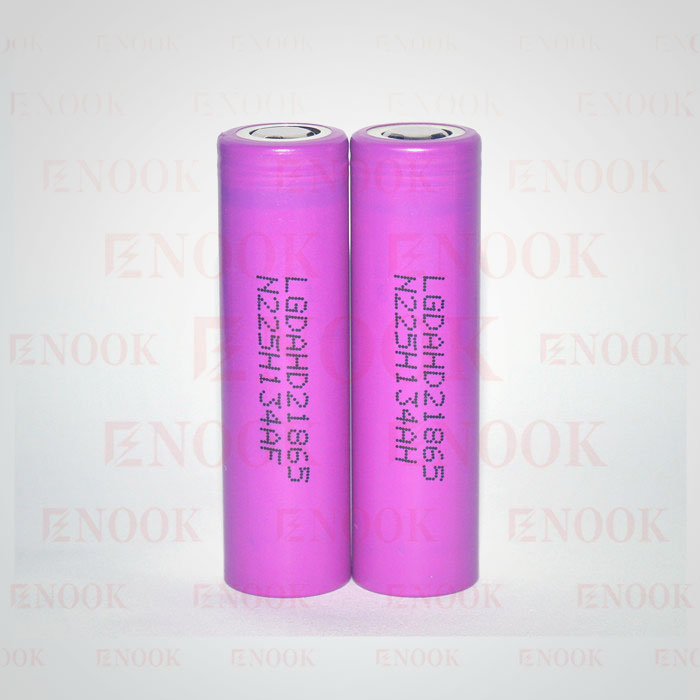 LG hd2 2000mah 18650 rechargeable li-ion battery 3.7V 18650 lithium battery for vaporsharp