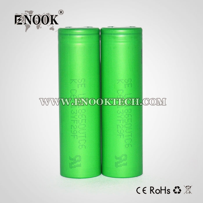 Original Green 3.6V 3000mAh 30A US18650 18650 VTC6 Battery