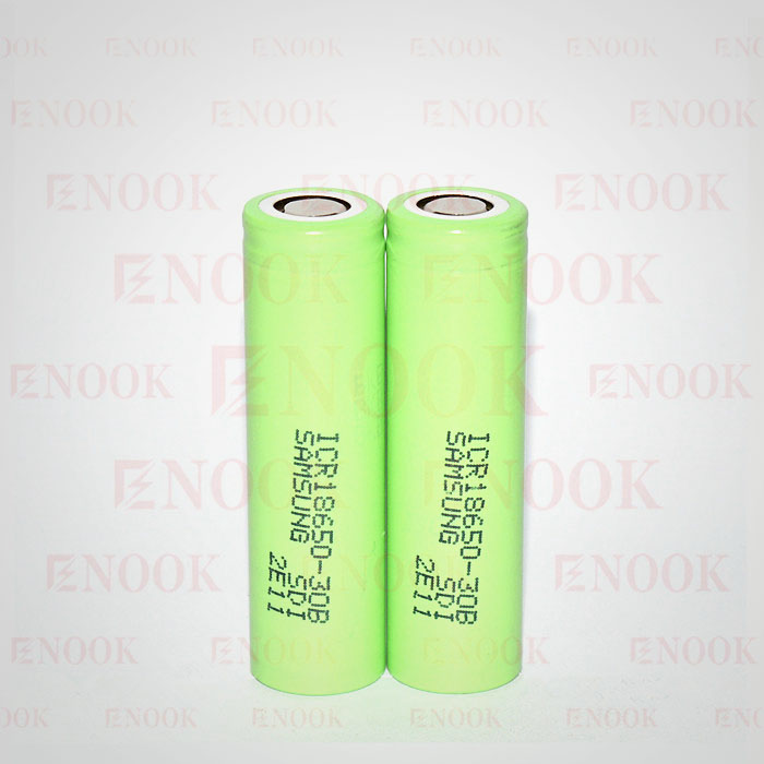 Enook company 18650 30B 3.7V 3000mAh ICR rechargeable lithium li-ion battery