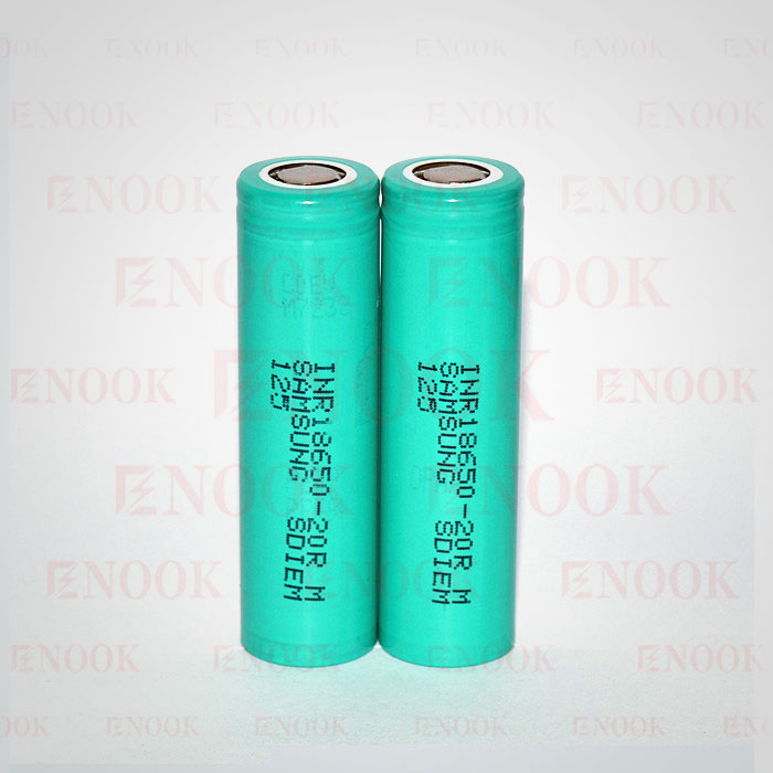 18650 Samung 20R 2000mah rechargeable mod battery
